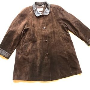 A-Pro-Peaux   100% Leather Brown Coat
